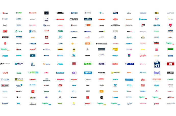marcas empresas con automatización industrial